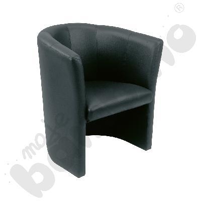Fotel Club czarny