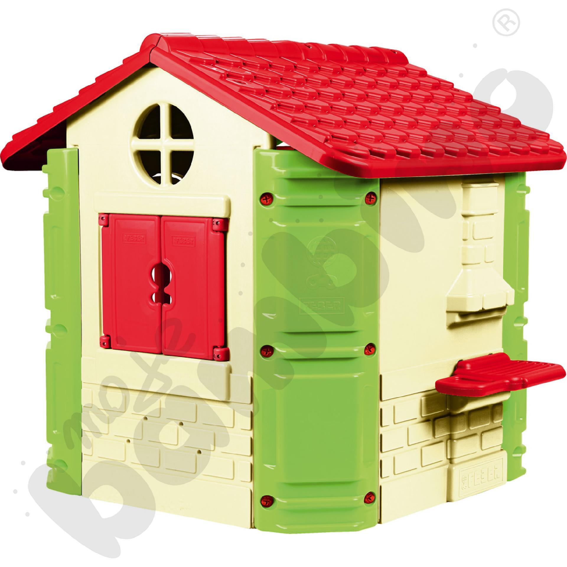 Domek z grillem