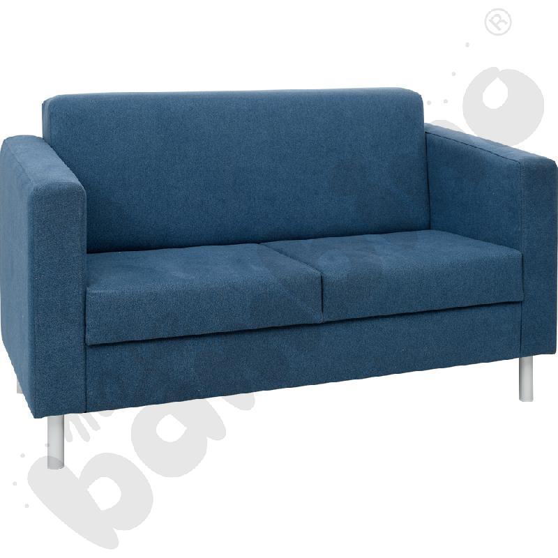 Sofa Relax granatowa -...