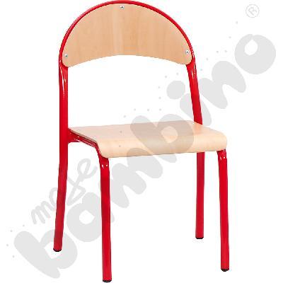Krzesło P rozm. 3 czerwone