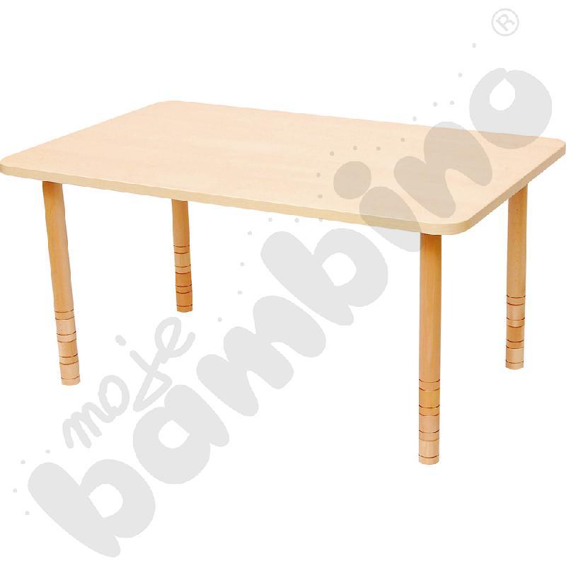 Stół prostokątny brzoza