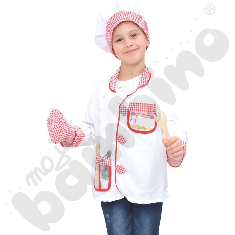 Szef kuchni - kostium z akcesoriami