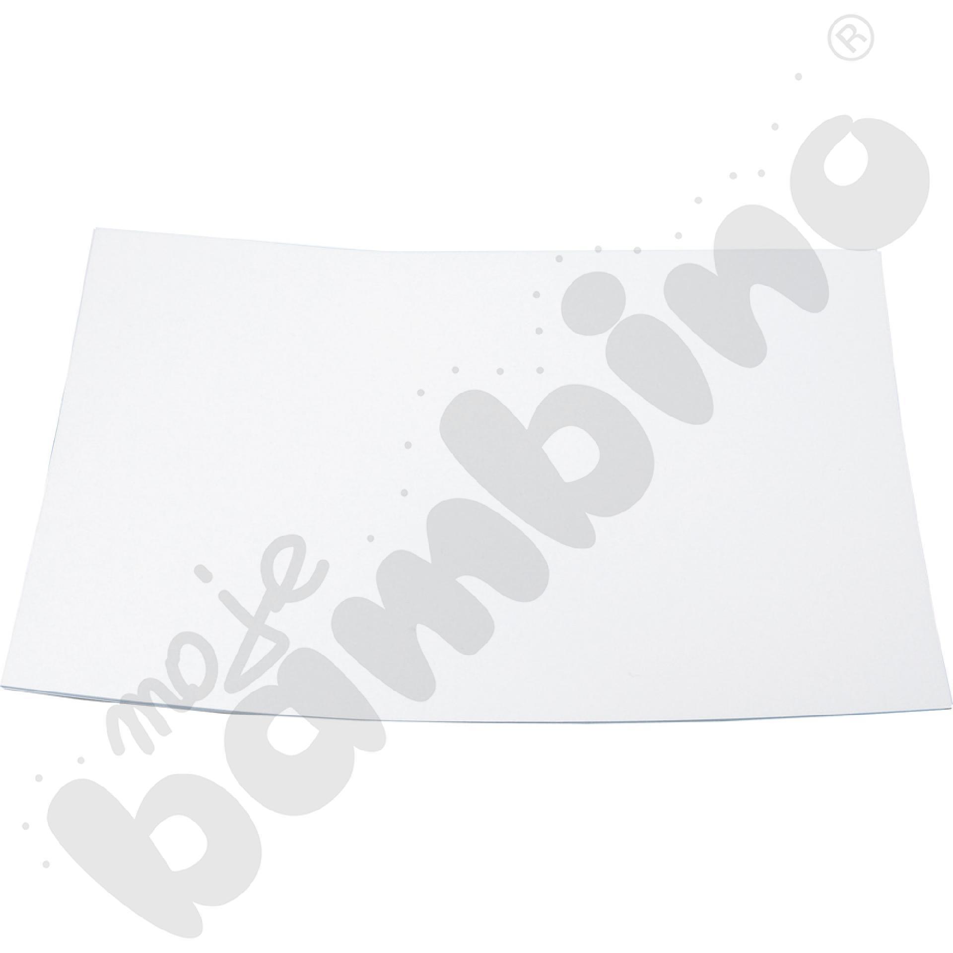 Blok techniczny biały A4