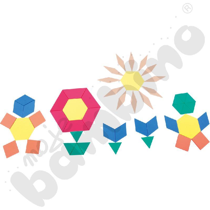 Jumbo kształty z pianki