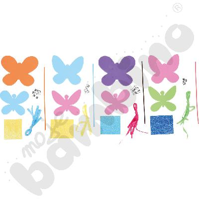 Różdżka z motylkiem - zestaw kreatywny