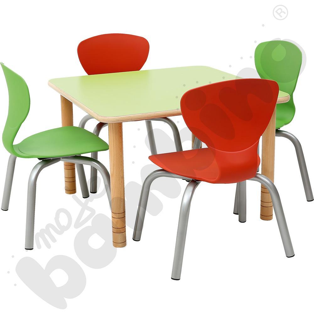 Zestaw Flexi - stół z krzesłami