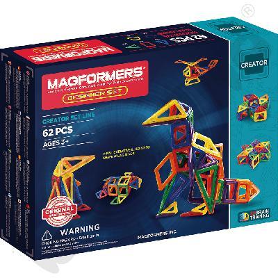 Magformers Designer, 62 el.