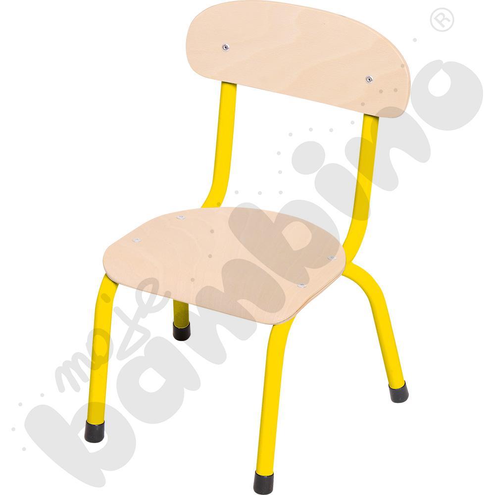 Krzesło Bambino rozm. 0 żółte