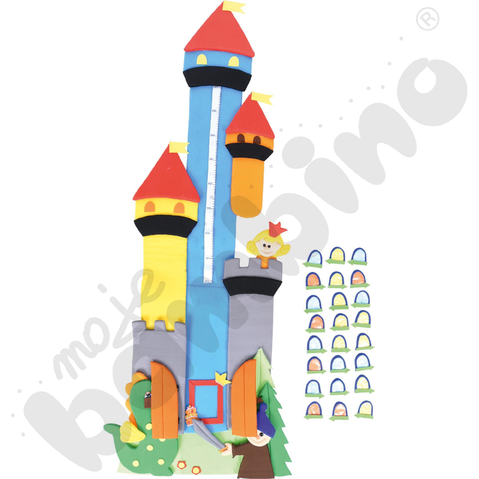 Makatka Pałac z miarką wzrostu