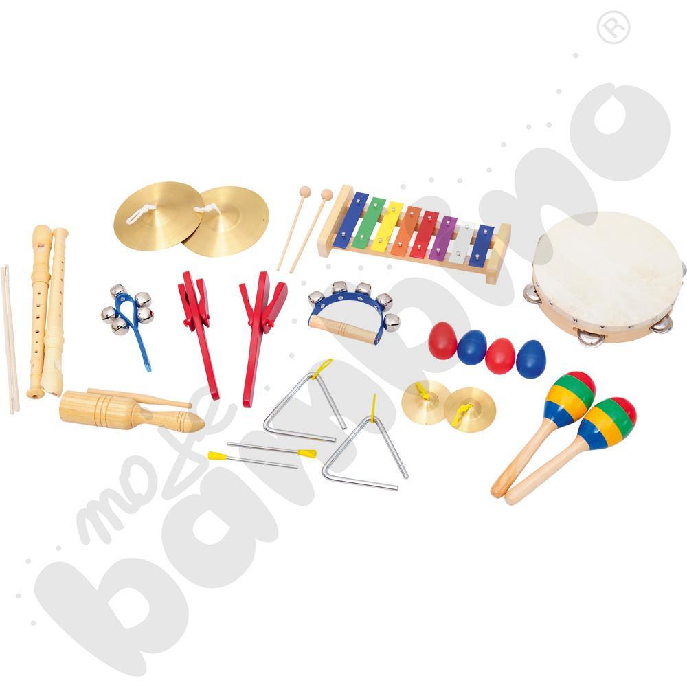 Zestaw instrumentów do półki z makatką