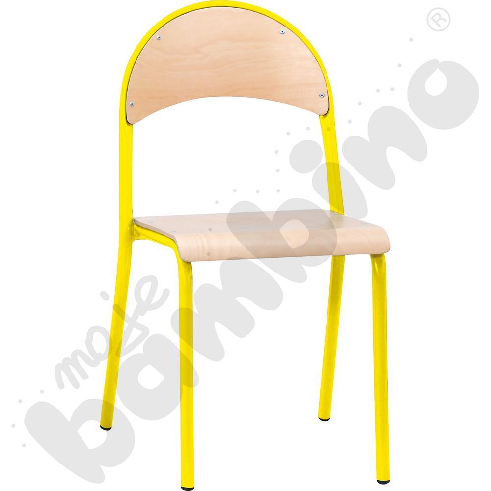 Krzesło P rozm.  6 żółte