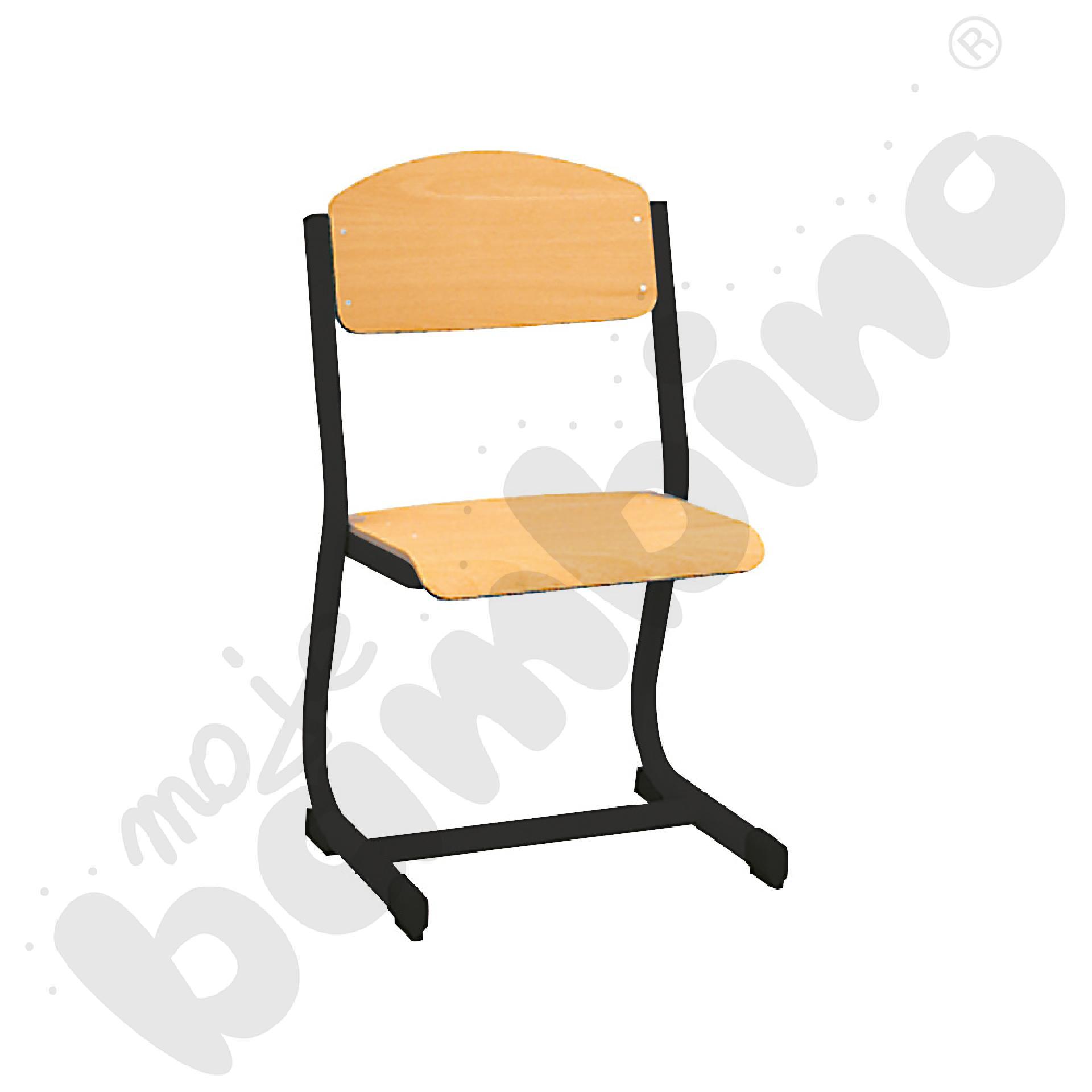 Krzesło IN-C rozm. 6 czarne
