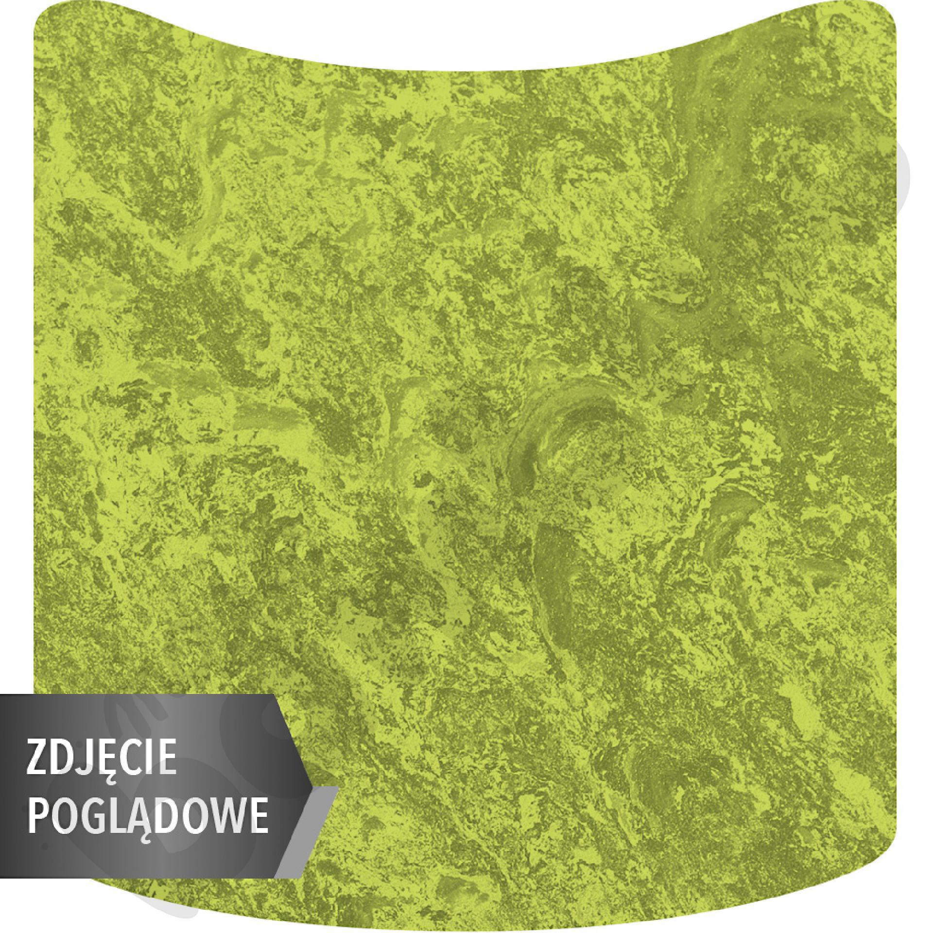 Cichy stół Plus falisty mały, 70 x 72 cm, zaokrąglone narożniki, rozm. 2 - zielony