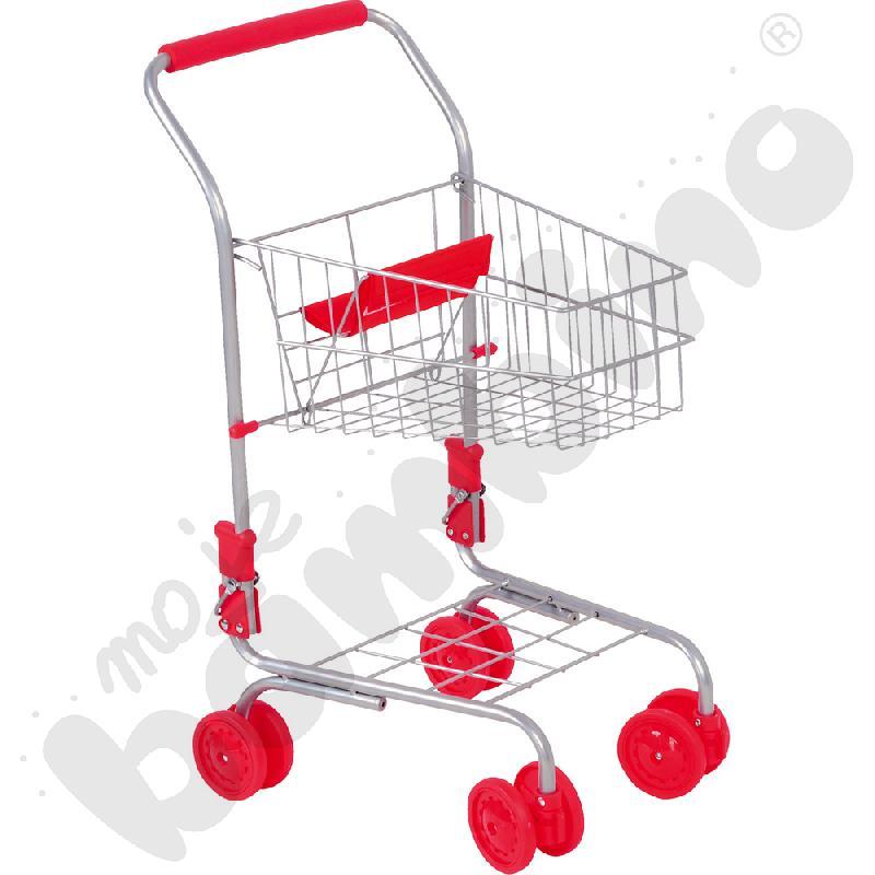 Metalowy Koszyk Na Zakupy