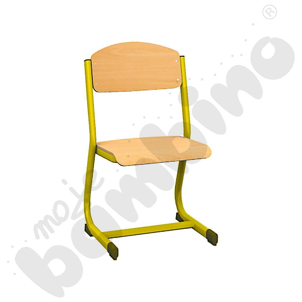Krzesło IN-C rozm. 4 żółte