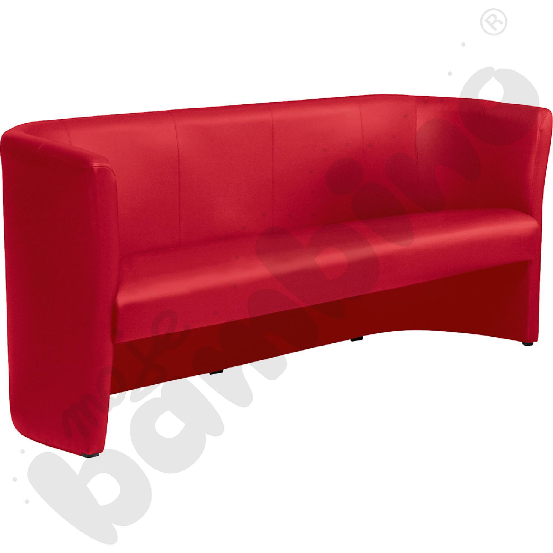Sofa Club trio czerwona
