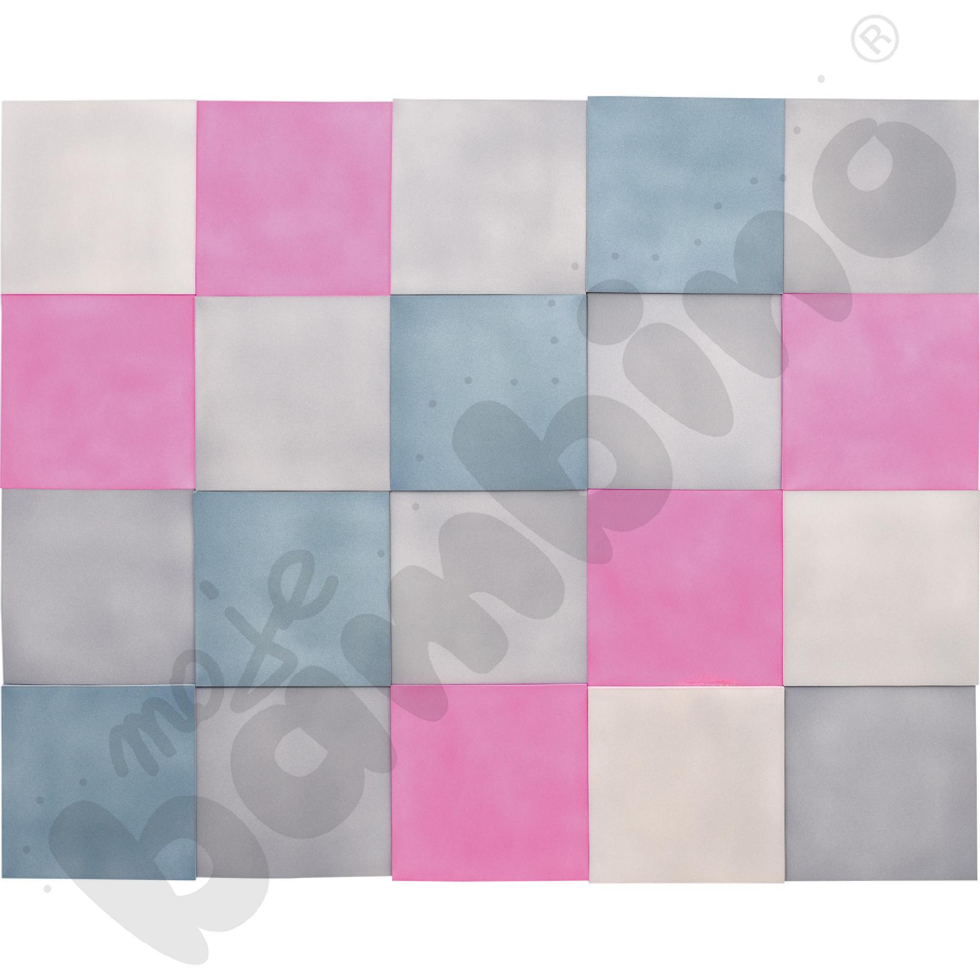 Zestaw kwadratów wyciszających 3