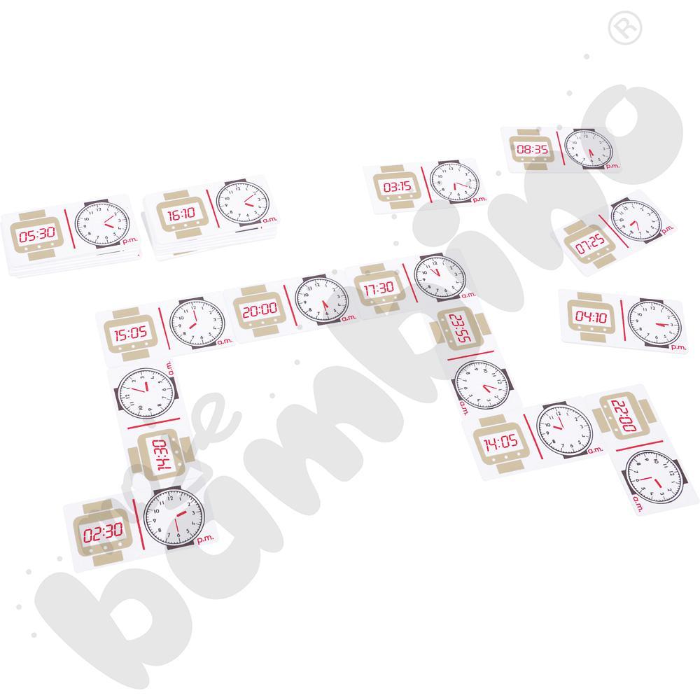Domino - zegar 24 h