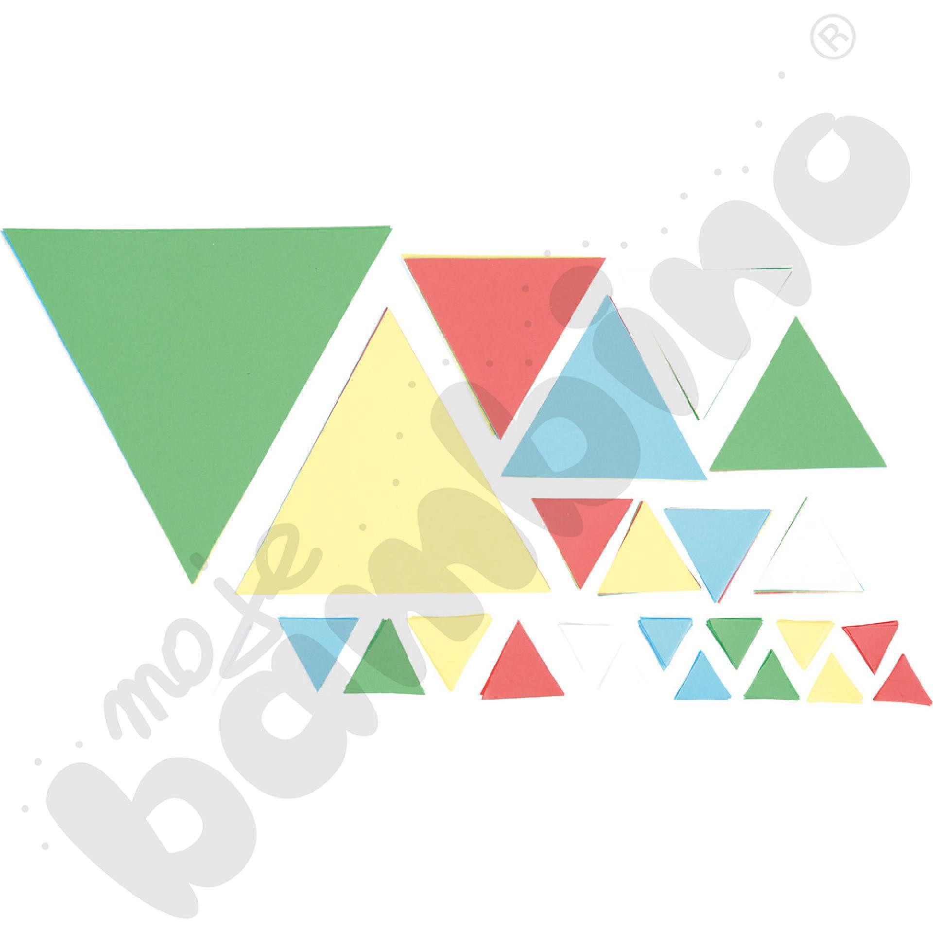 Zestaw trójkątów