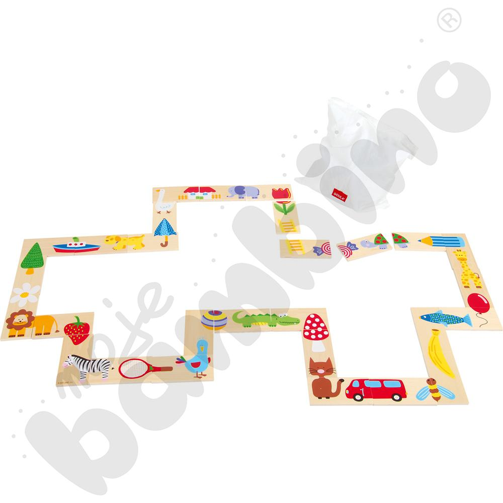 Domino Makro puzzle