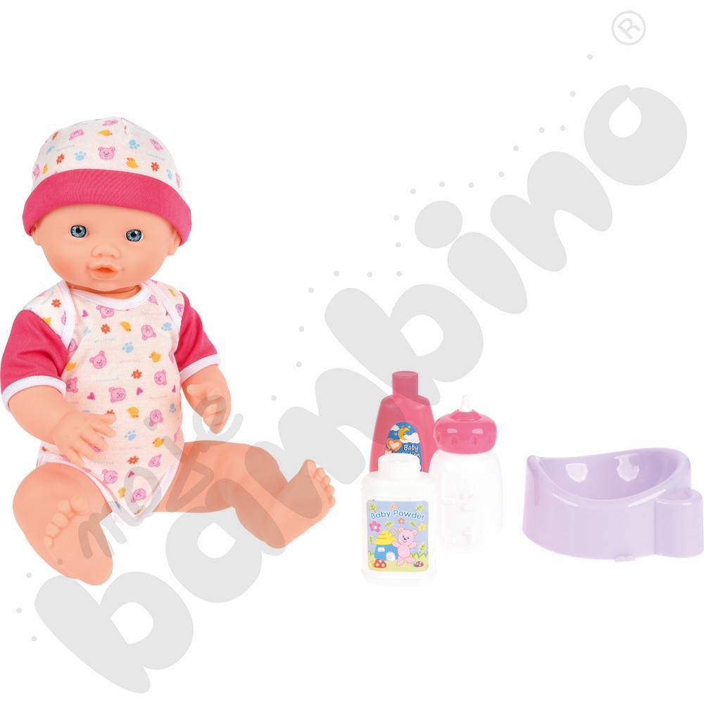 Lalka z akcesoriami toaletowymi