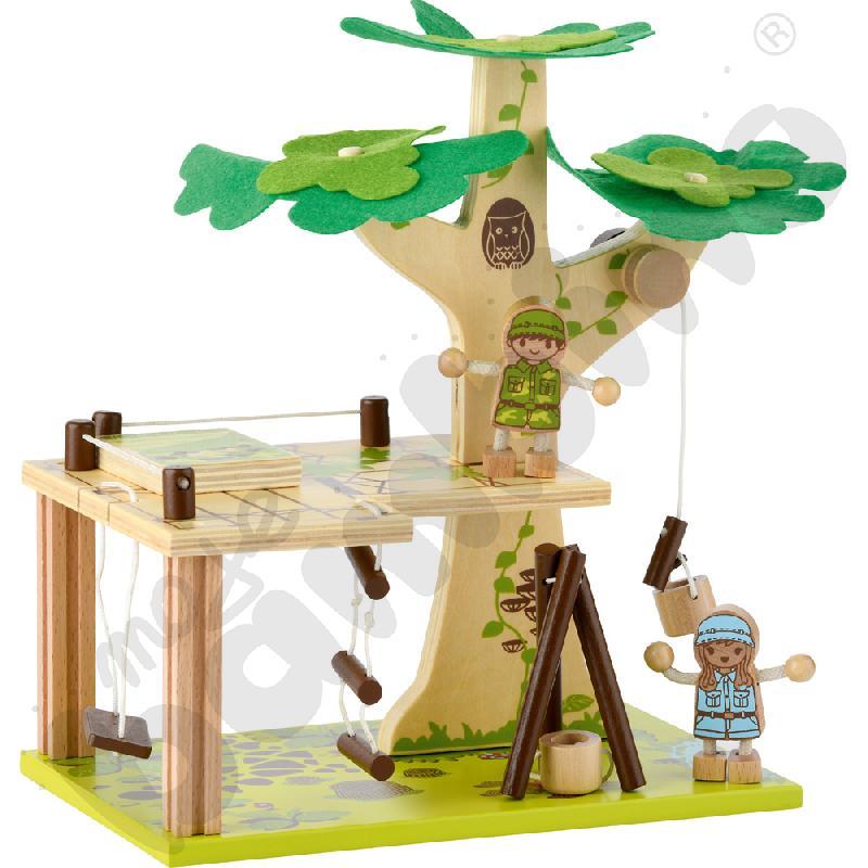 Domek na drzewie - zbuduj i baw się