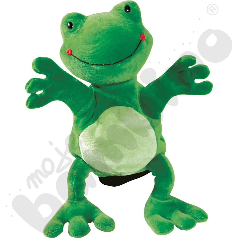 Rękawica pacynka - żabka