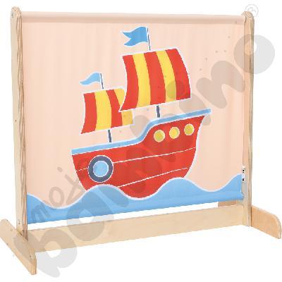 Parawan mały Statek