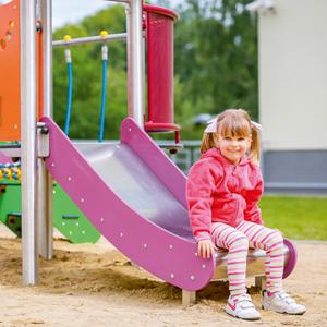 Place zabaw, ogród w przedszkolu