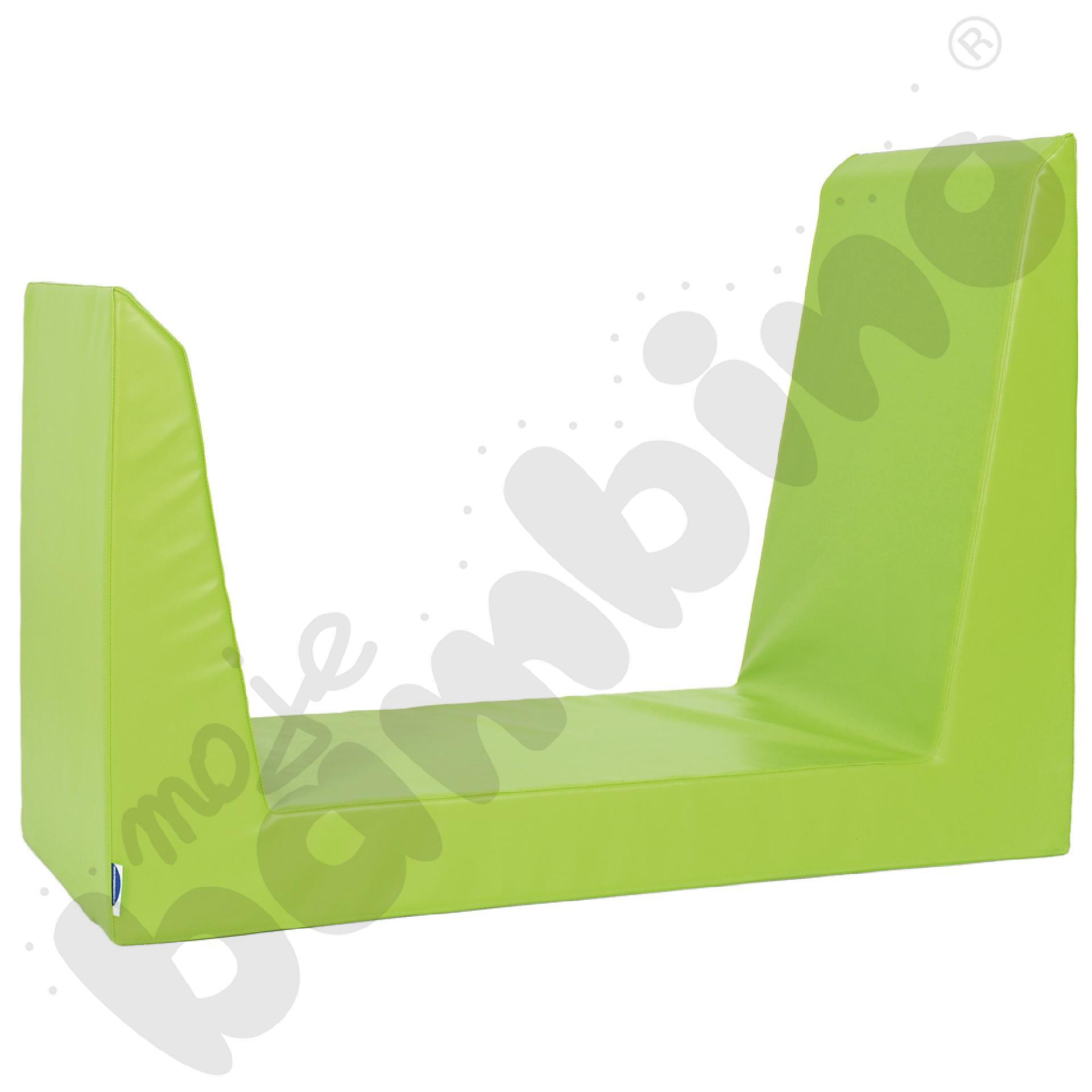 Materac-siedzisko zielone