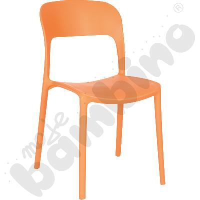 Krzesło Felix pomarańczowe