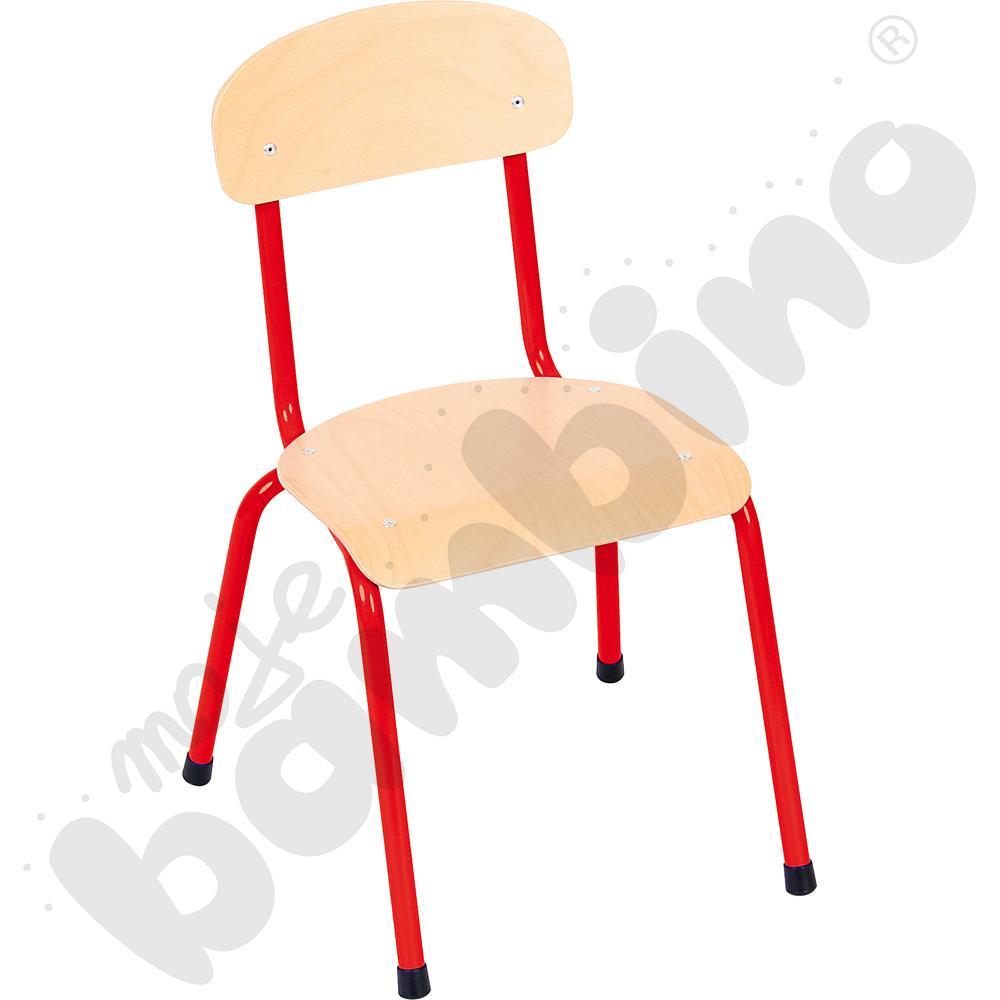 Krzesło Bambino rozm. 2 czerwone