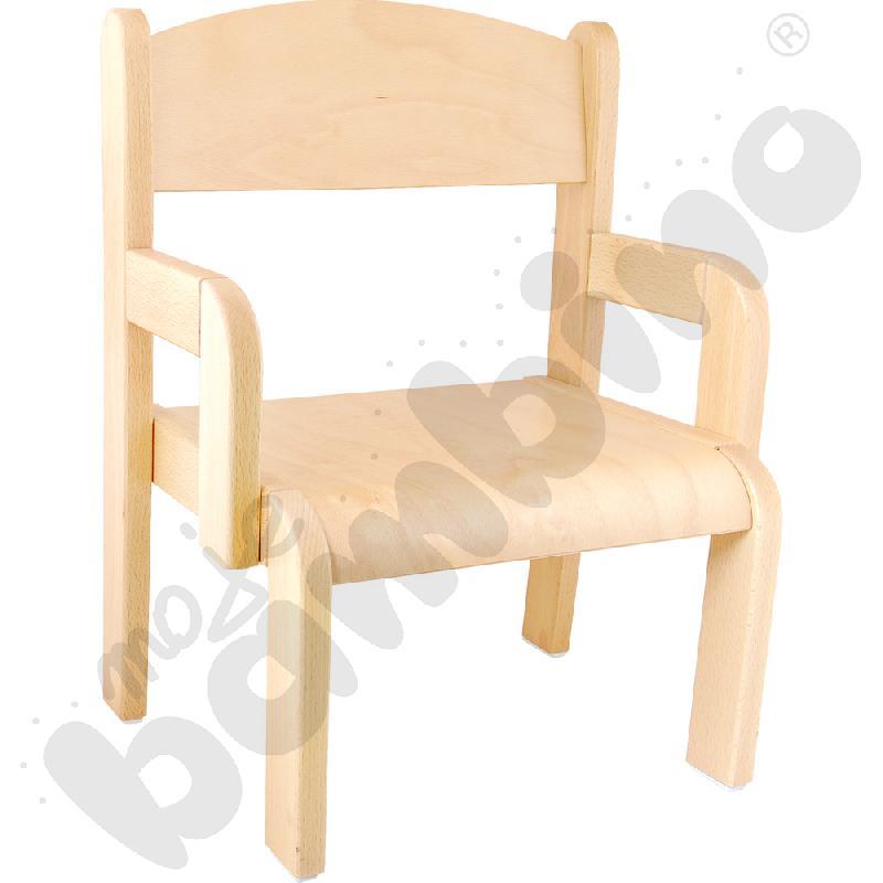 Krzesło Krzyś ze stopką filcową rozm. 1
