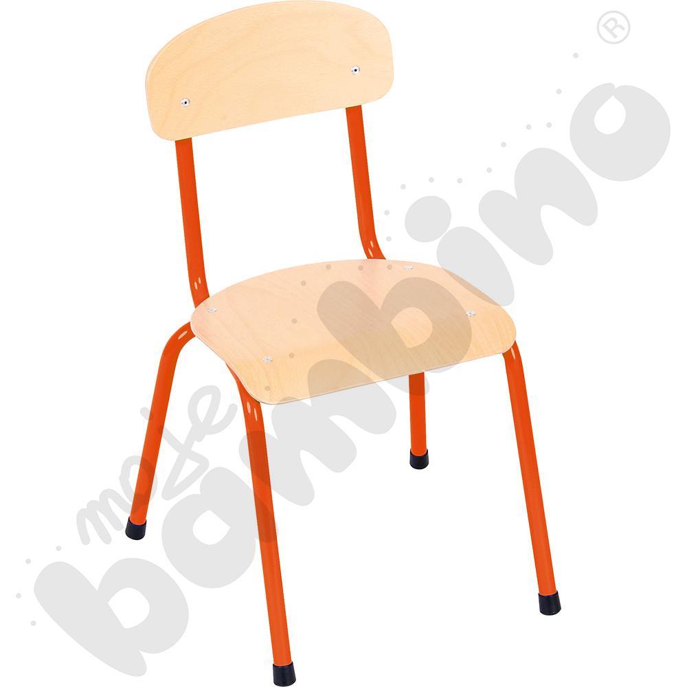 Krzesło Bambino rozm. 2 pomarańczowe