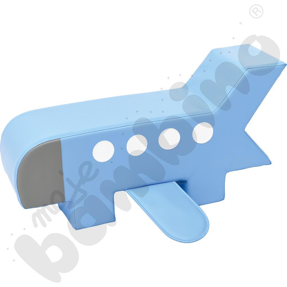 Piankowy kącik - samolot