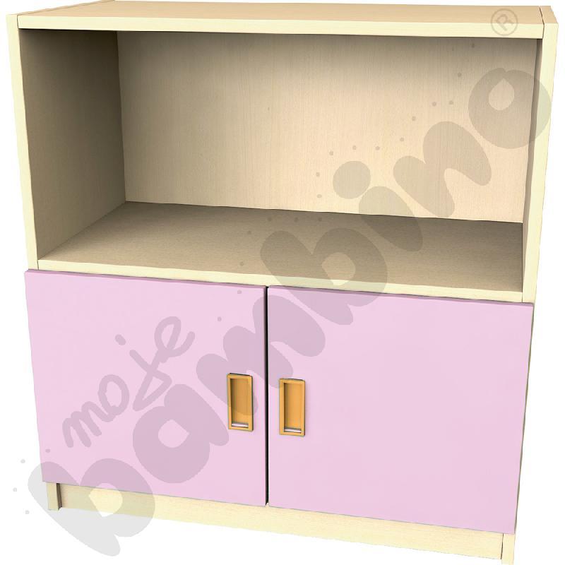 Drzwi małe do regału - różowe