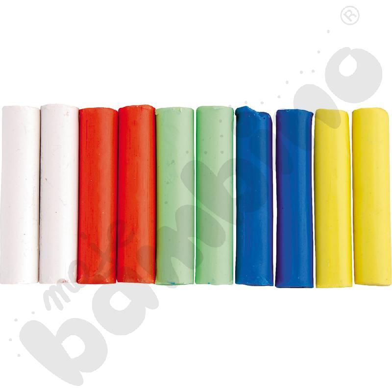 Plastelina jasne kolory