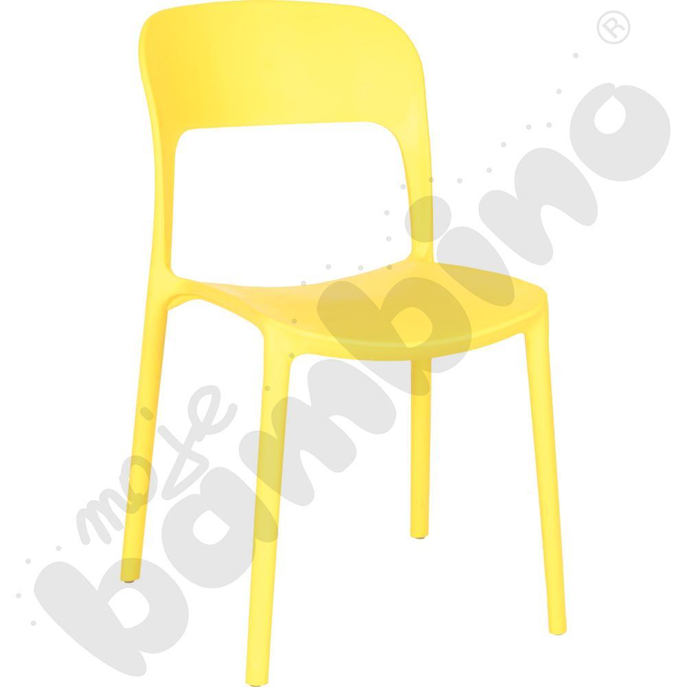 Krzesło Felix żółte