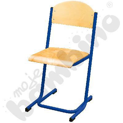 Krzesło MAX rozm. 4 niebieskie