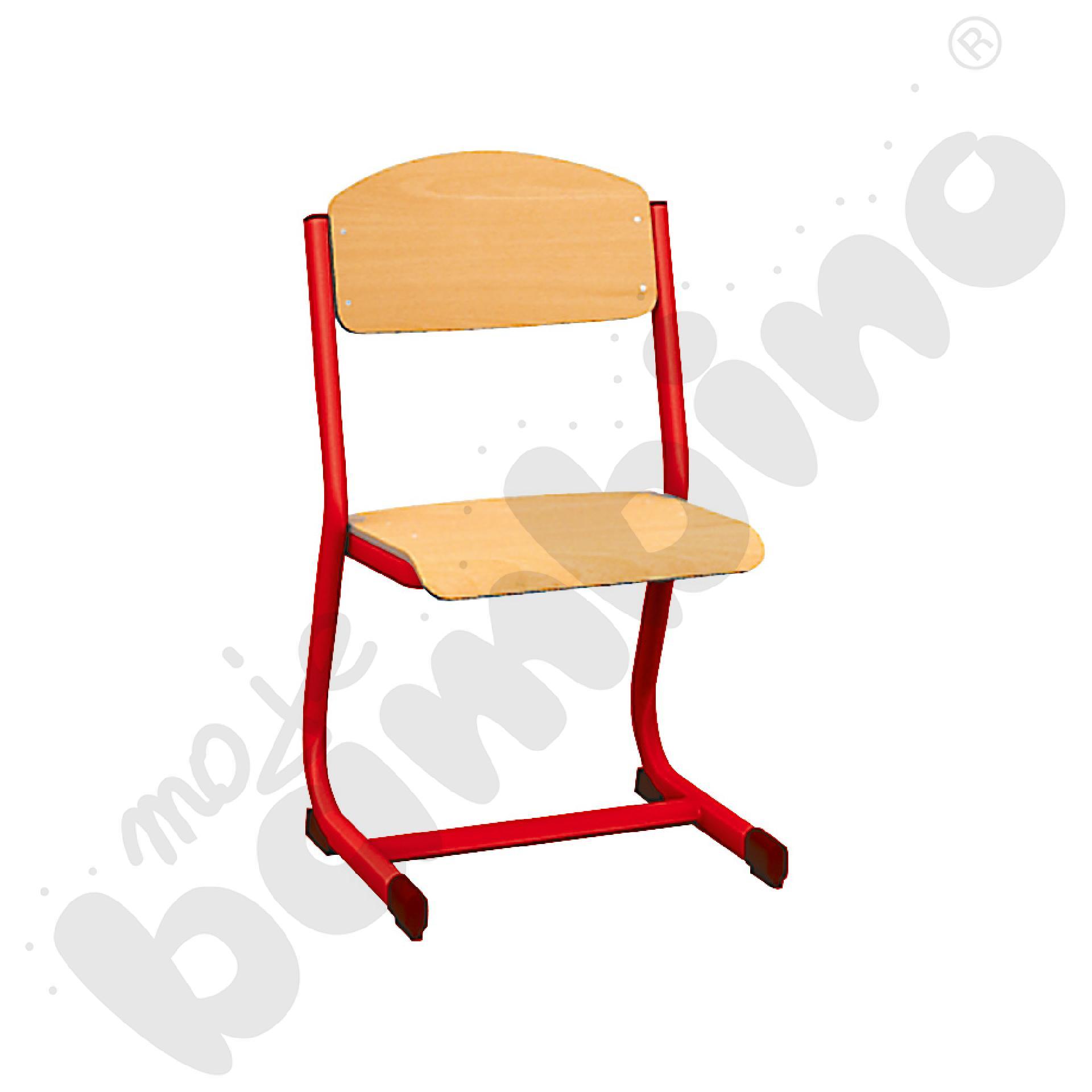 Krzesło IN-C rozm. 4 czerwone