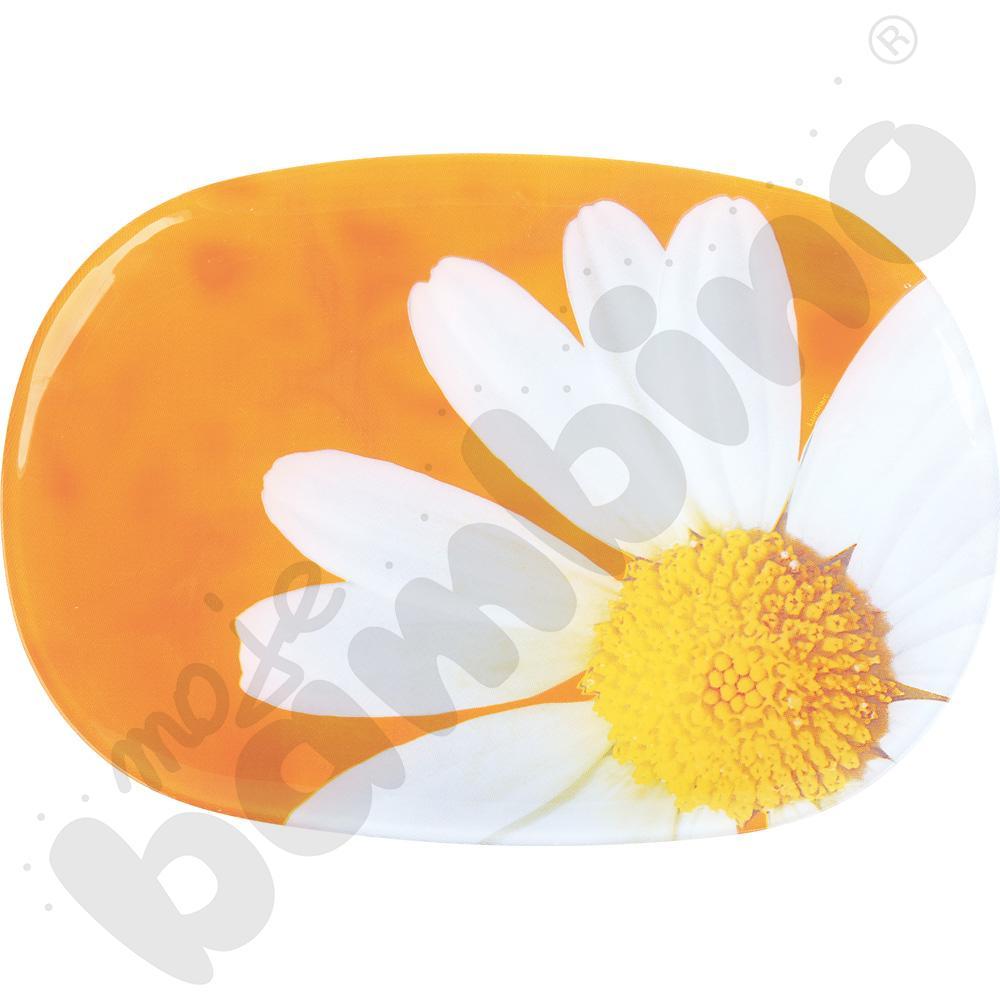 Półmisek prostokątny Paquerette pomarańczowy