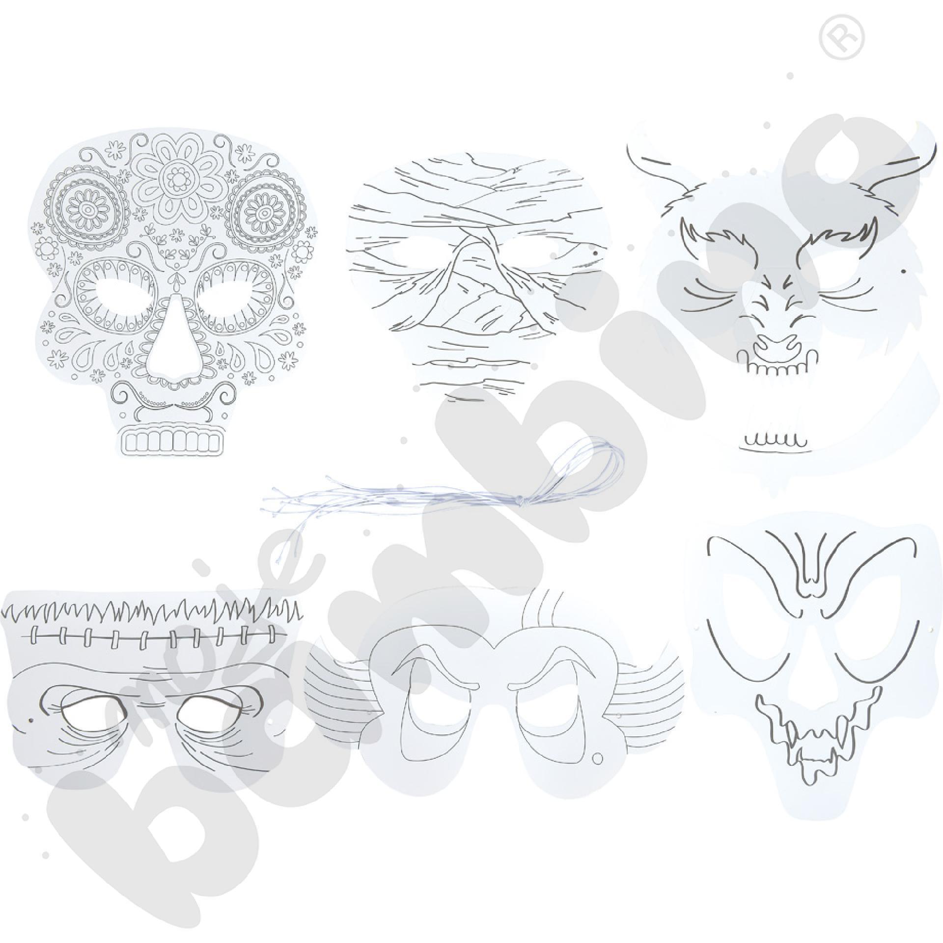 Maski - czarne charaktery