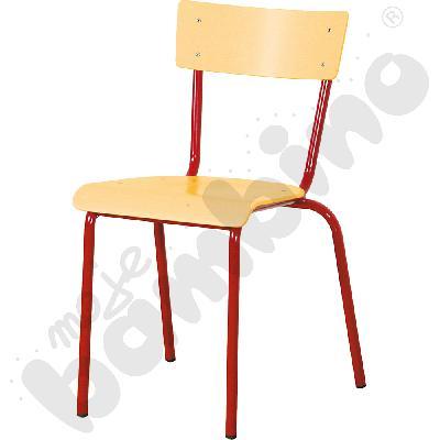 Krzesło D rozm. 6 czerwone
