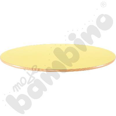 Blat Flexi okrągły - żółty