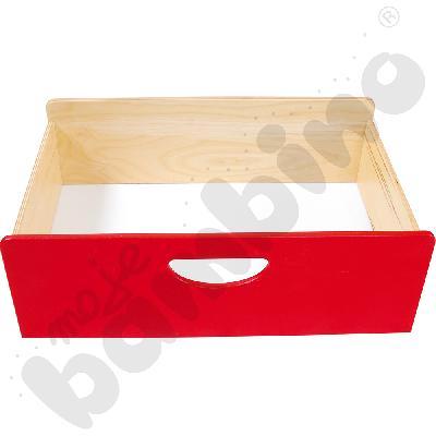 Pojemnik drewniany BIS - czerwony