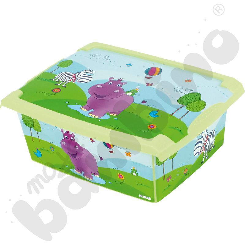 Pudełko hipcio 10 l