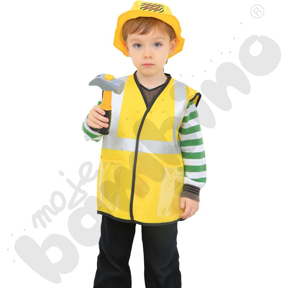 Budowlaniec - kostium z akcesoriami