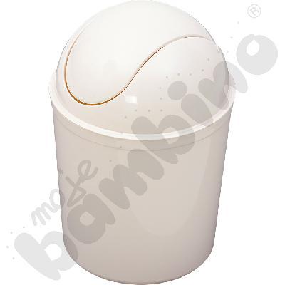 Okrągły kosz na śmieci