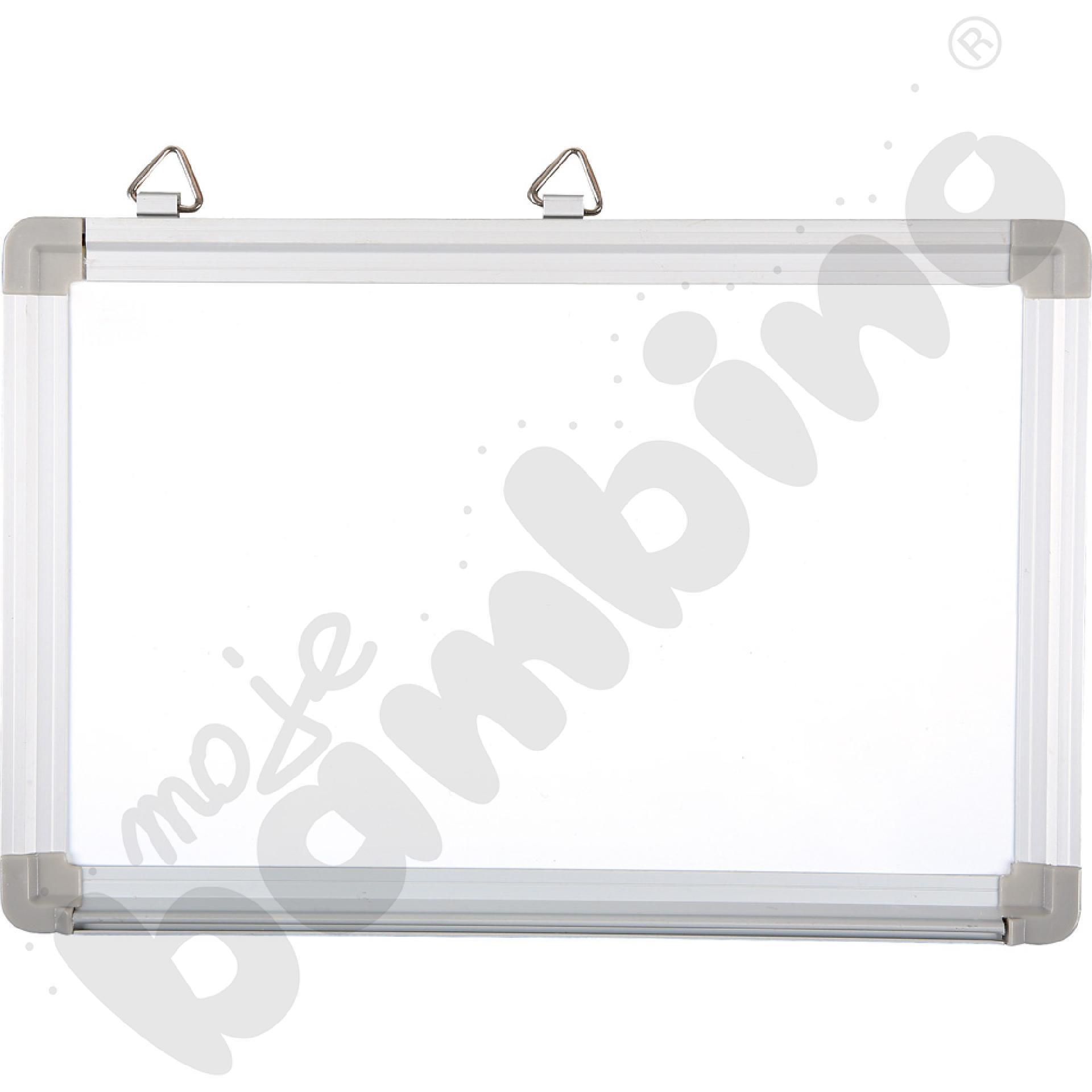 Biała tablica magnetyczna wym. 30 x 20 cm