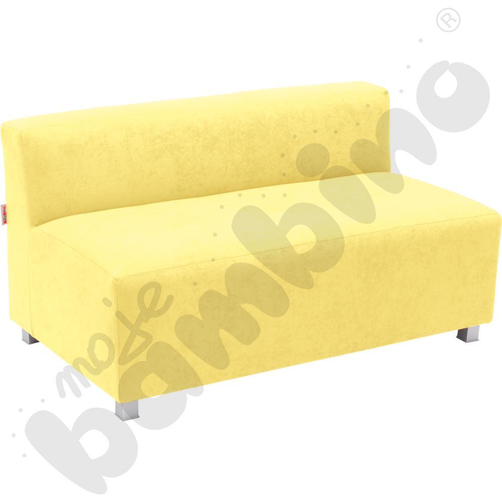 Kanapa duża - żółta wys. 35 cm